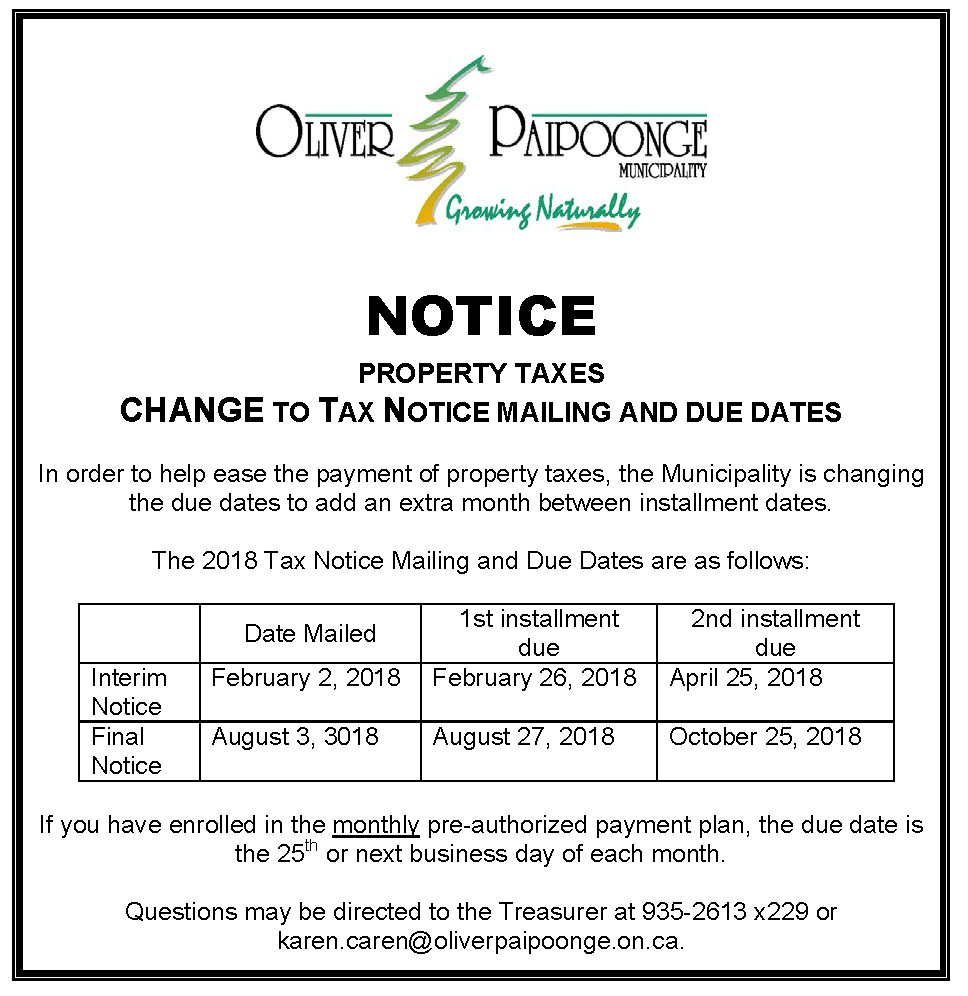 Tax installment Change Notice.png